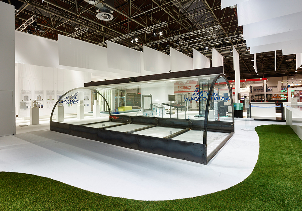 glasstec tunnel